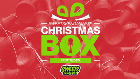 Sweets Kendamas France Christmas Box Kendama Promo Xmas Deals petit prix