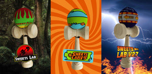 Kendamas Sweets France Custom V27 by Sweets Lab CUSHION Scooby Doo Retour vers le futur Jurassic Park Back to the future famous movie