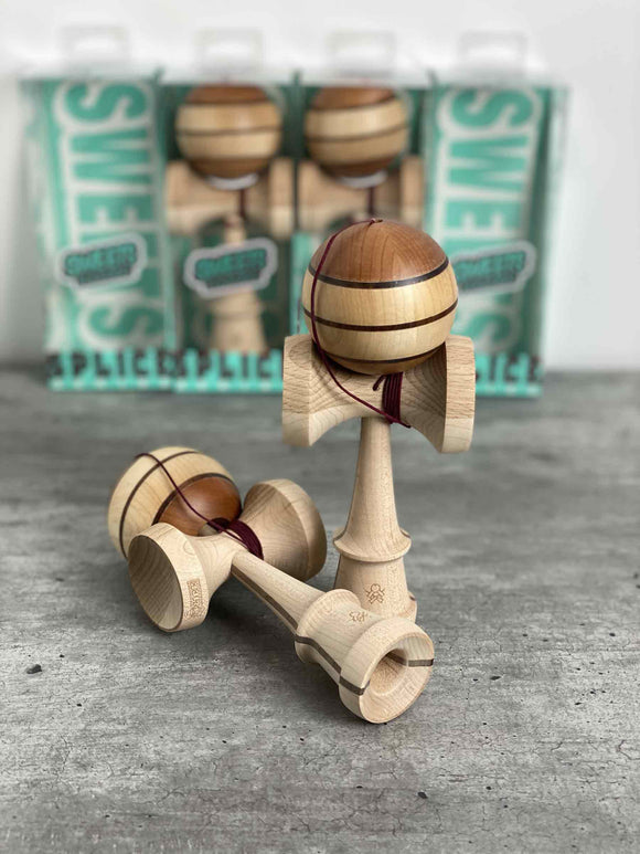 Sweets Kendamas FR - SHOP: Splice Series Mod #1 (Limited Edition) Kendama France Bois splice series new sweet kendama