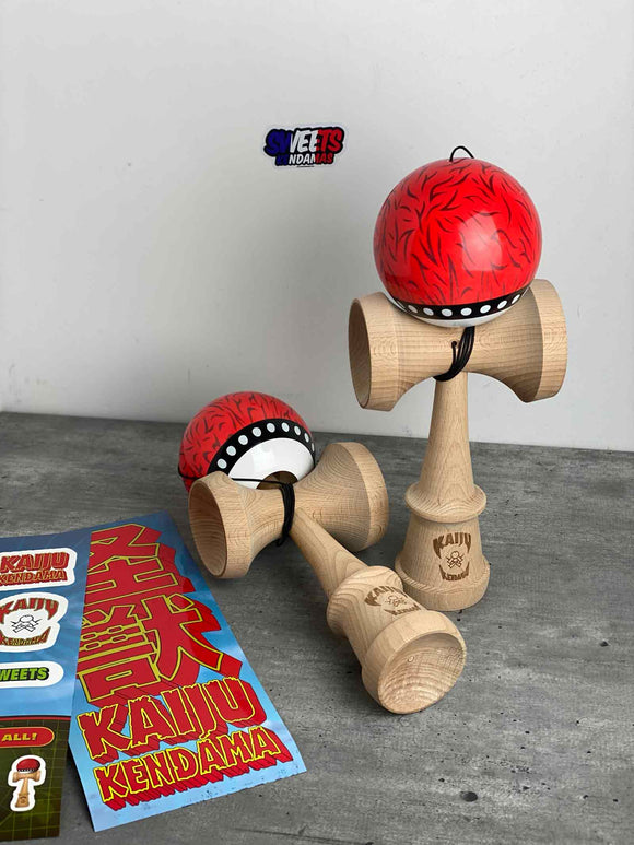 Kaiju Sweets Kendama - XXL Big Red Dog