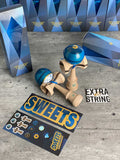 Kendama Sweets C.Fraser Legend Model SAPHIRE sticky KENDAMAS sweet bilboquet france