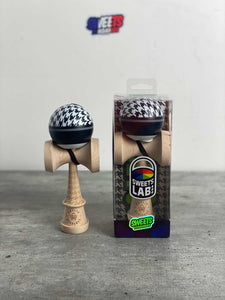 "Kendama Sweets Custom V28 Cushion ""SOCIALITE"" Sweet Kendamas France Bilboquet freestyle tricks skills Houndstooth Pied de poule"
