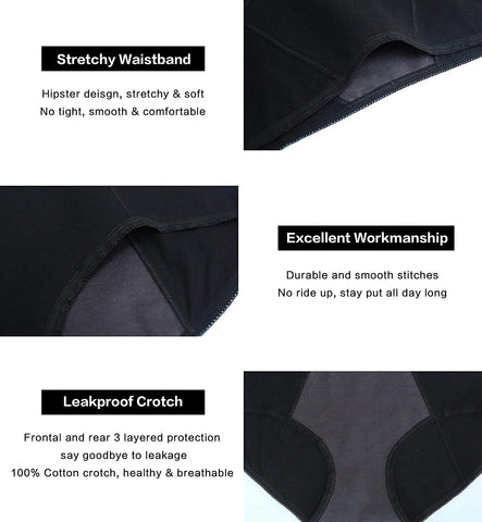 period panty 4 layer protection