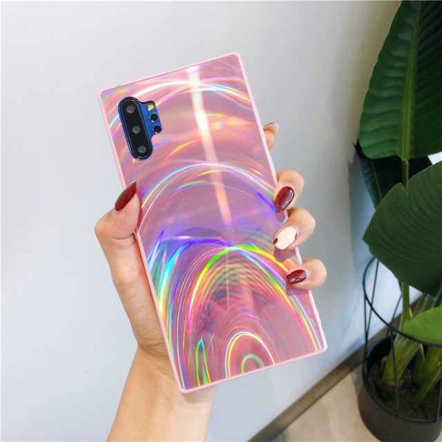 """Rainbow Lights Case"" Hülle für Samsung S series"