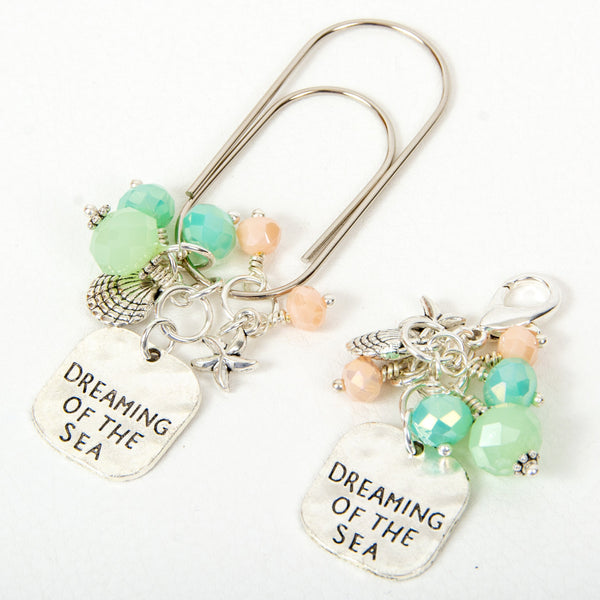Dreaming of the Sea Dangle Planner Clip or Charm