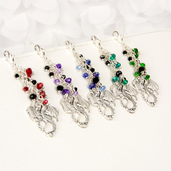 Dragon Traveler's Notebook charm in five colors