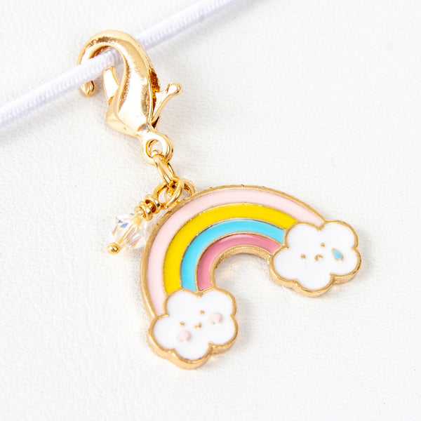 Cute Rainbow Charm - stitch marker
