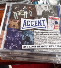 Load image into Gallery viewer, Accent - Live at The Kings Head, Fulham - CD