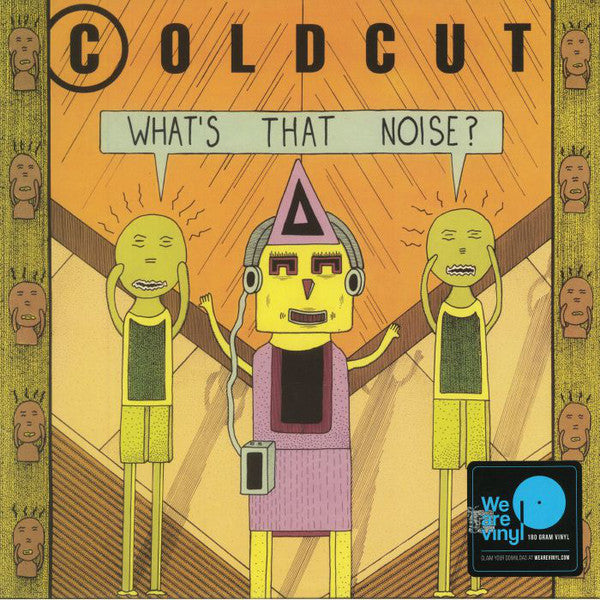 Coldcut ‎– What's That Noise? (Vinyl LP + DL)