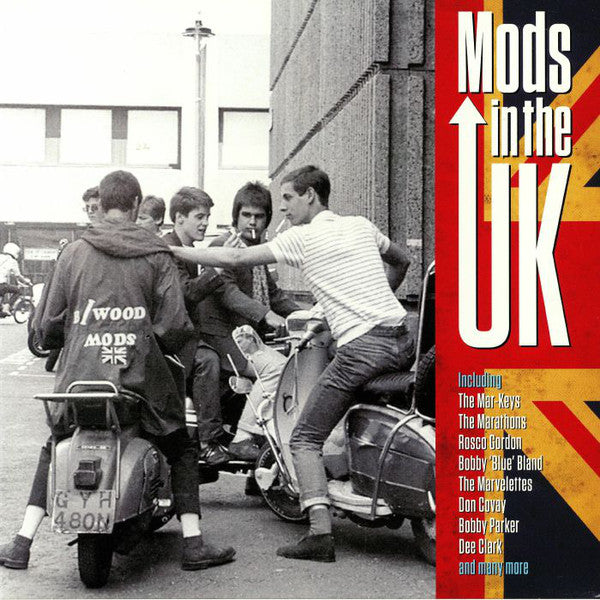 Various ‎– Mods In The UK (Vinyl, LP, Compilation)