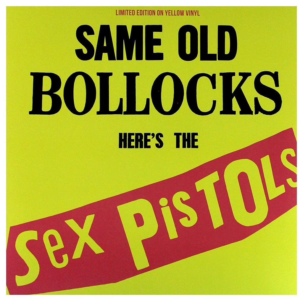 The Sex Pistols - Same Old Bollocks, Here's The Sex Pistols (Limited Edition on Yellow Vinyl LP)