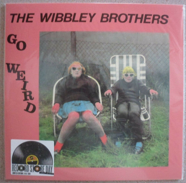 The Wibbley Brothers ‎– Go Weird - New Vinyl LP