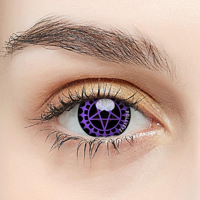 Pollyeye Cartoon Covenant Purple