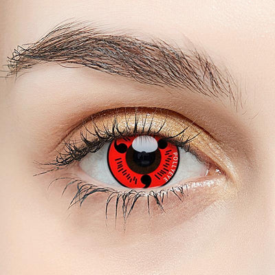 Pollyeye Sharingan Magatama Red