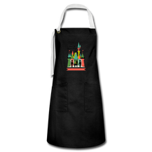Load image into Gallery viewer, Artisan Apron - black/white