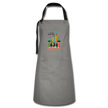Load image into Gallery viewer, Artisan Apron - gray/black