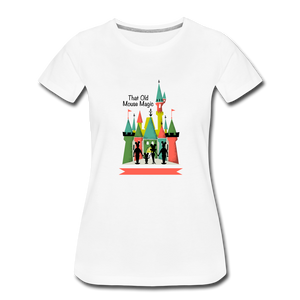That Old Mouse Magic - Women's Premium T-Shirt - white