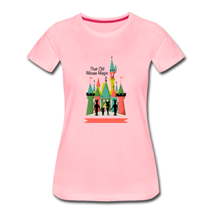 That Old Mouse Magic - Women's Premium T-Shirt - pink