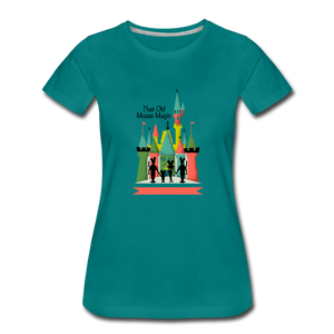 That Old Mouse Magic - Women's Premium T-Shirt - teal