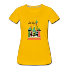 Load image into Gallery viewer, That Old Mouse Magic - Women's Premium T-Shirt - sun yellow