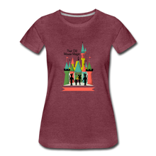 Load image into Gallery viewer, That Old Mouse Magic - Women's Premium T-Shirt - heather burgundy