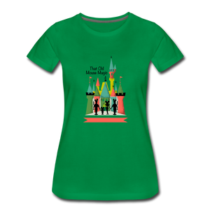 That Old Mouse Magic - Women's Premium T-Shirt - kelly green