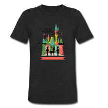 Load image into Gallery viewer, That Old Mouse Magic - Tri-Blend T-Shirt - heather black