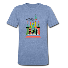 Load image into Gallery viewer, That Old Mouse Magic - Tri-Blend T-Shirt - heather Blue