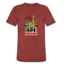Load image into Gallery viewer, That Old Mouse Magic - Tri-Blend T-Shirt - heather cranberry