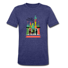 Load image into Gallery viewer, That Old Mouse Magic - Tri-Blend T-Shirt - heather indigo