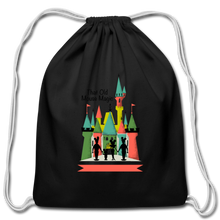 Load image into Gallery viewer, That Old Mouse Magic - Cotton Drawstring Bag - black