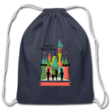 Load image into Gallery viewer, That Old Mouse Magic - Cotton Drawstring Bag - navy