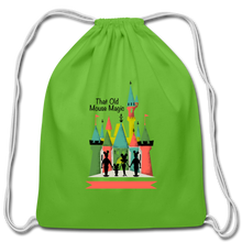 Load image into Gallery viewer, That Old Mouse Magic - Cotton Drawstring Bag - clover