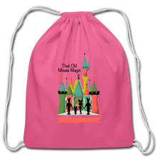 Load image into Gallery viewer, That Old Mouse Magic - Cotton Drawstring Bag - pink