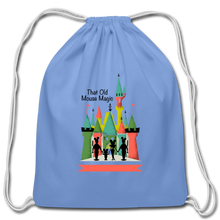 Load image into Gallery viewer, That Old Mouse Magic - Cotton Drawstring Bag - carolina blue