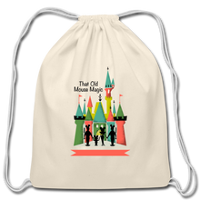 Load image into Gallery viewer, That Old Mouse Magic - Cotton Drawstring Bag - natural