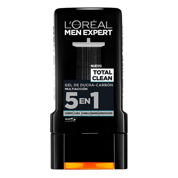Douche Crème Total Clean L'Oreal Make Up (300 ml)