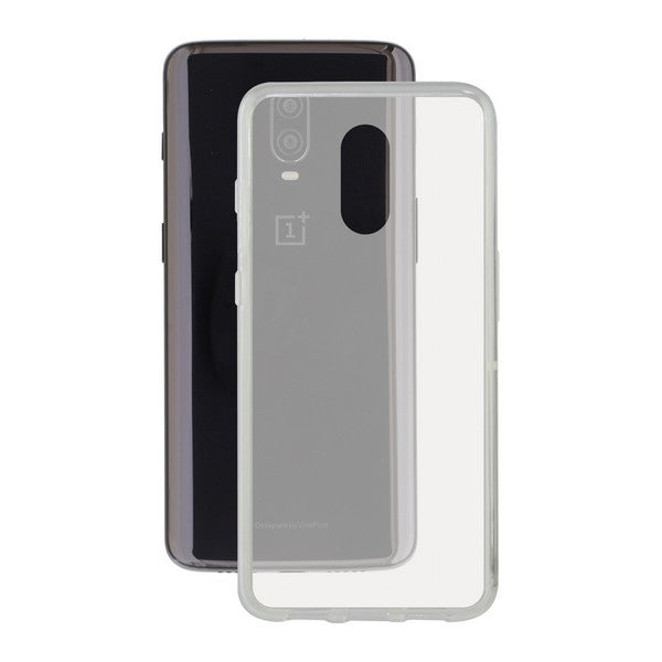 Telefoonhoes One Plus 6t Contact Flex TPU Transparant