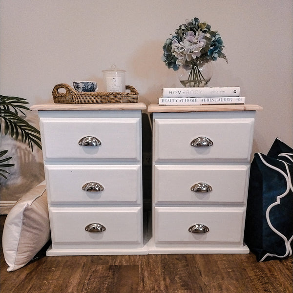 How To Chalk Paint Classic Hamptons Sidetables