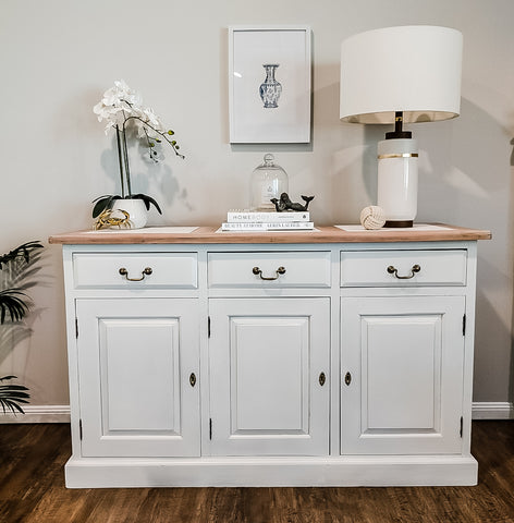 How To Spray A Hamptons Sideboard