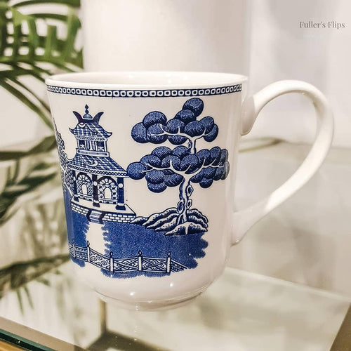 Blue Willow Mugs - Fuller's Flips