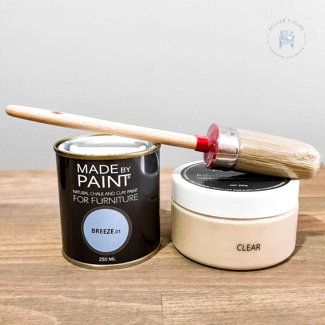 Chalk Paint, Brush and Wax Pack