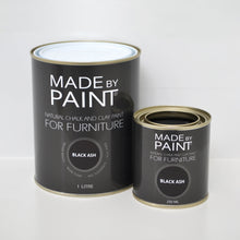 Load image into Gallery viewer, 'Black Ash'- Chalk & Clay Furniture Paint by Madebypaint®️ - Fuller's Flips