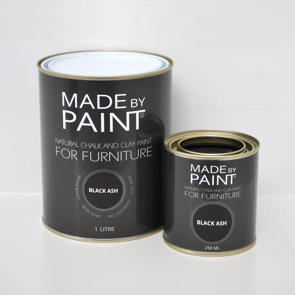 'Black Ash'- Chalk & Clay Furniture Paint by Madebypaint®️ - Fuller's Flips