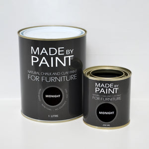 'Midnight' Chalk & Clay Furniture Paint by Madebypaint®️