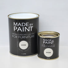 Load image into Gallery viewer, 'Oyster' Chalk & Clay Furniture Paint by Madebypaint®️ - Fuller's Flips