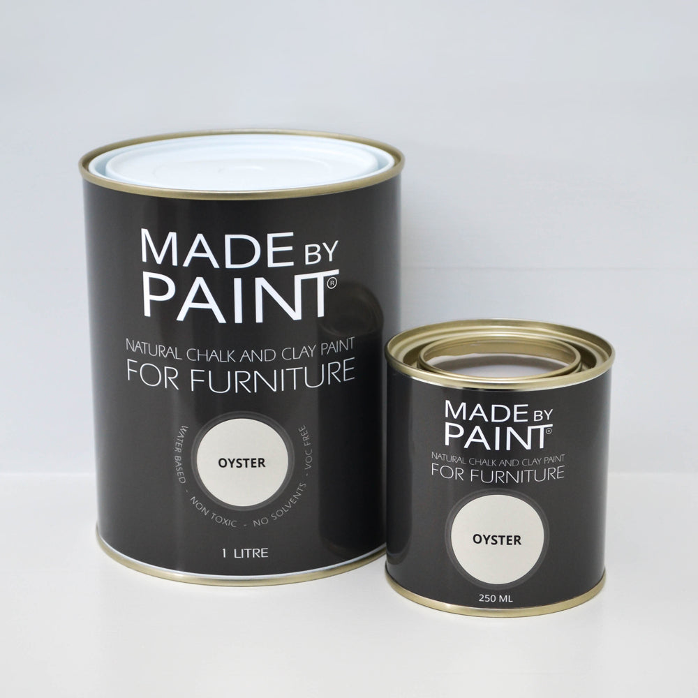 'Oyster' Chalk & Clay Furniture Paint by Madebypaint®️ - Fuller's Flips