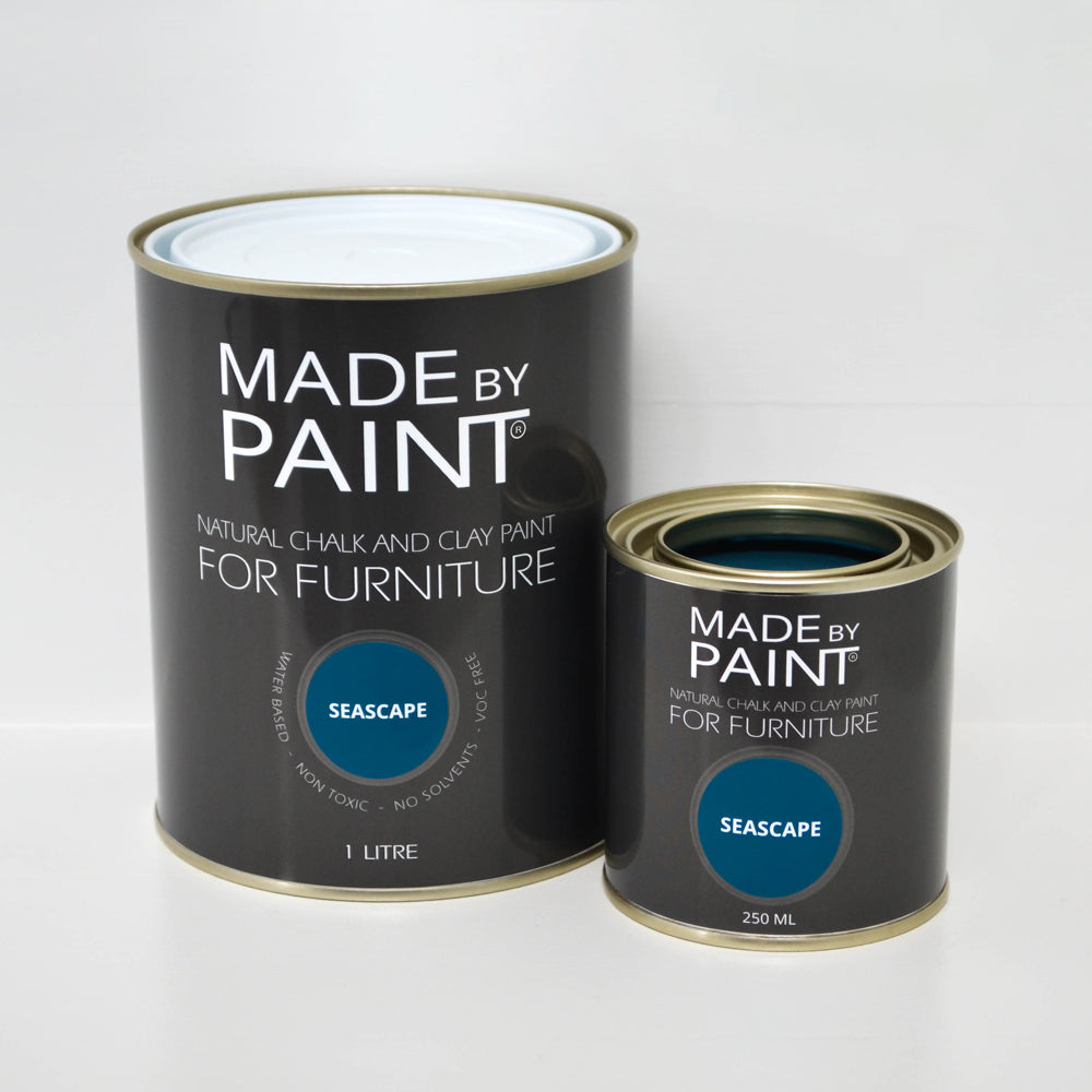 'Seascape'- Chalk & Clay Furniture Paint by Madebypaint®️ - Fuller's Flips