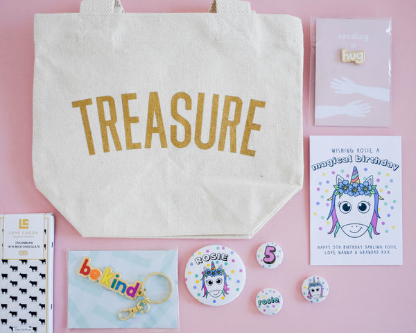 Build your own Unicorn Birthday Letterbox Gift