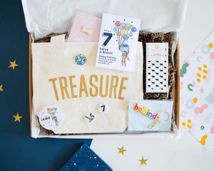 Build your own Space Explorer Birthday Letterbox Gift